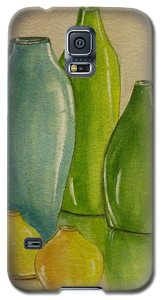 Five Vases Galaxy S5 Case by Kelly Mills