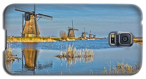 Five Windmills At Kinderdijk Galaxy S5 Case