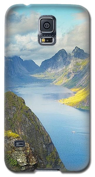 Galaxy S5 Case featuring the photograph Fjord by Maciej Markiewicz