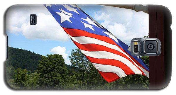 Flag In Vermont Galaxy S5 Case