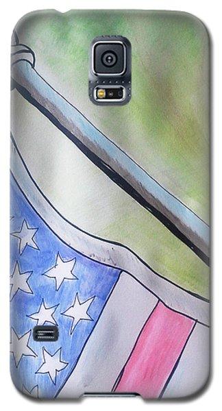 Flag Galaxy S5 Case