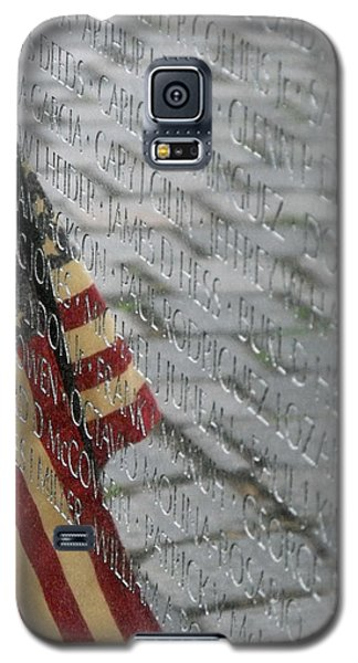 Flag On The Wall Galaxy S5 Case by Dawn Romine
