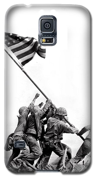 Flag Raising At Iwo Jima Galaxy S5 Case