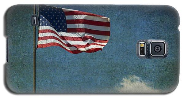 Flag - Still Standing Proud - Luther Fine Art Galaxy S5 Case