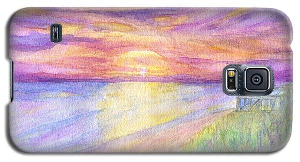 Flagler Beach Sunrise Galaxy S5 Case