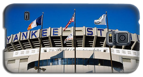 Flags In Front Of A Stadium, Yankee Galaxy S5 Case