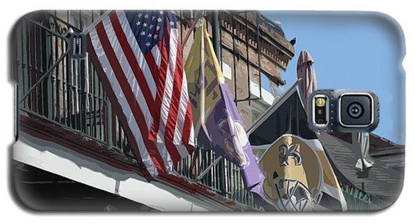 Flags On Bourbon Street Galaxy S5 Case