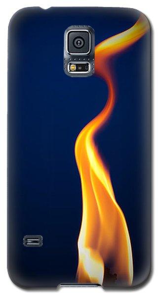 Flame Galaxy S5 Case by Darryl Dalton