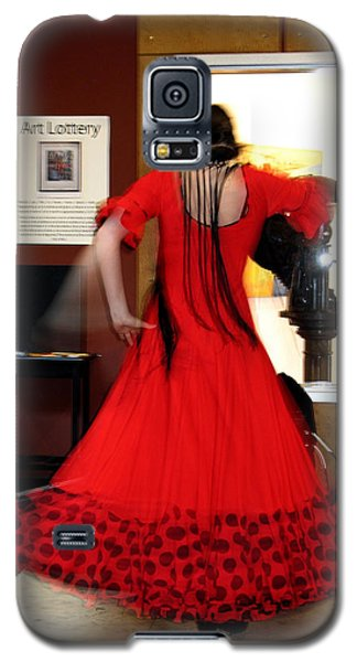 Flamenco Dancer Galaxy S5 Case
