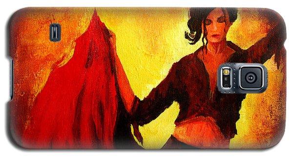 Flamenco Dancer Galaxy S5 Case