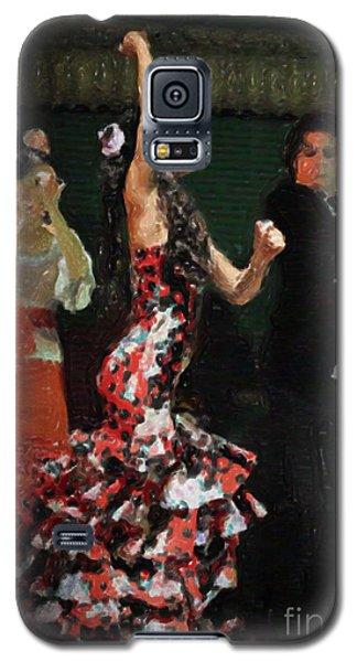 Flamenco Series No 13 Galaxy S5 Case by Mary Machare
