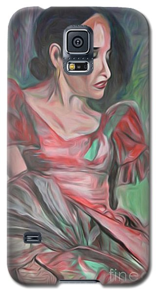 Flamenco Solo Galaxy S5 Case by Ecinja Art Works