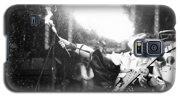 Galaxy S5 Case featuring the photograph Flaming Gene by Steven Macanka