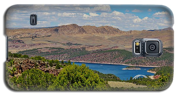 Galaxy S5 Case featuring the photograph Flaming Gorge by Janice Rae Pariza