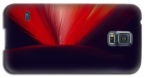 Flaming Planet Galaxy S5 Case