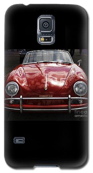 Flaming Red Porsche Galaxy S5 Case