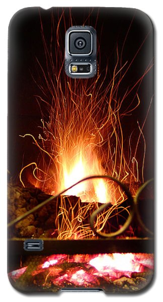 Flaming Wizard Galaxy S5 Case