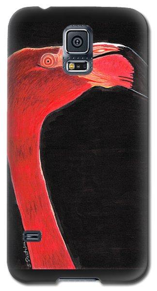 Flamingo Galaxy S5 Case - Flamingo Art By Sharon Cummings by Sharon Cummings