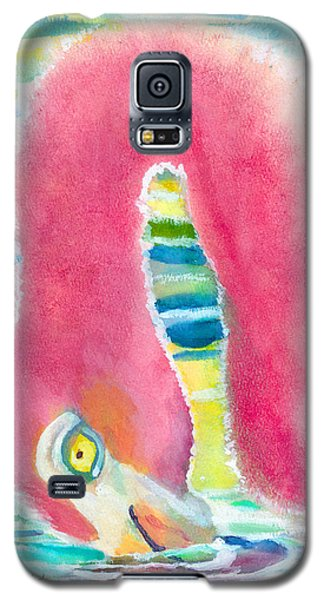 Flamingo Eating Galaxy S5 Case by C Sitton