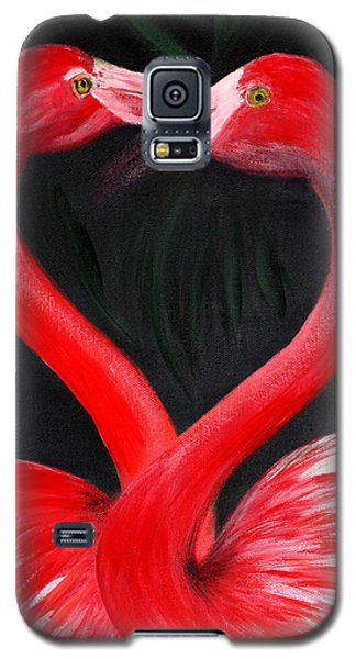 Love  Is... Flamingo Love. Inspirations Collection Galaxy S5 Case