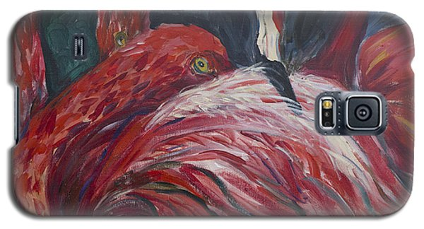 Flamingos Galaxy S5 Case by Avonelle Kelsey