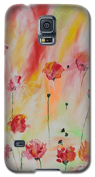 Galaxy S5 Case featuring the painting Flanders Field by PainterArtist FIN