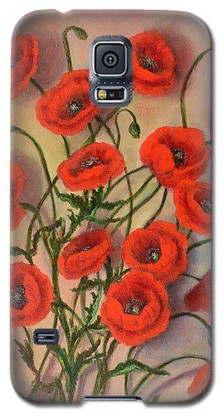 Flander's Poppies Galaxy S5 Case
