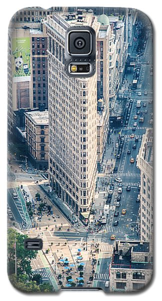 Flat Iron Building Galaxy S5 Case