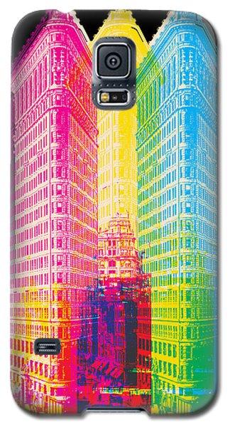 Flat Iron Pop Art Galaxy S5 Case