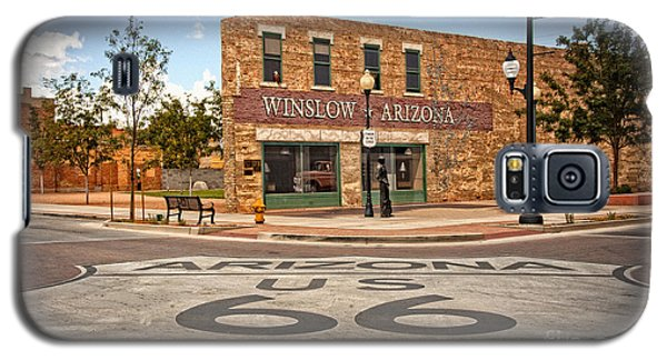 Flatbed Ford And Winslow Route 66 Galaxy S5 Case