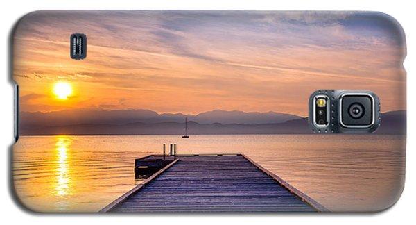 Flathead Lake Sunrise Galaxy S5 Case
