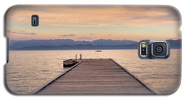 Flathead Lake Sunset Galaxy S5 Case