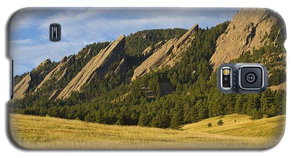 Flatiron Morning Light Boulder Colorado Galaxy S5 Case