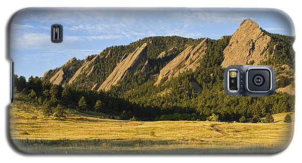Flatirons From Chautauqua Park Galaxy S5 Case by James BO  Insogna