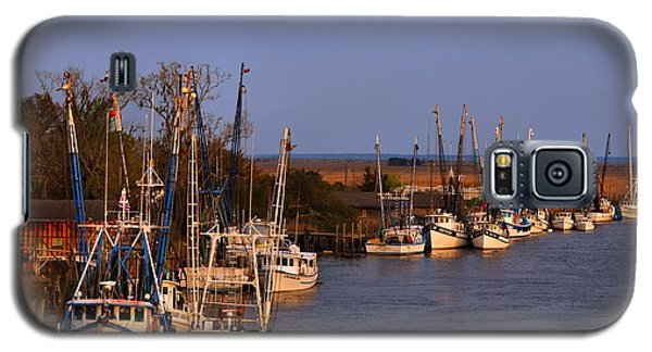 Galaxy S5 Case featuring the photograph Fleet's In by Laura Ragland