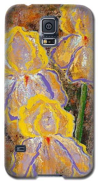 Fleur D' Iris Galaxy S5 Case by Margaret Bobb