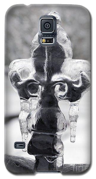 Fleur-de-lis On Ice Galaxy S5 Case