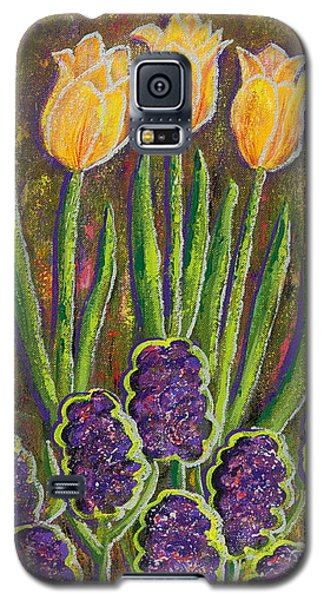 Fleurs D' Tulips And Hyacinths Galaxy S5 Case by Margaret Bobb