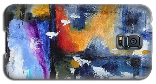 Galaxy S5 Case featuring the painting Flight by Jo Appleby