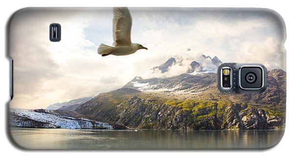 Galaxy S5 Case featuring the photograph Flight Over Glacier Bay by Janis Knight