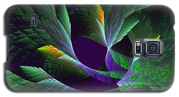Flights Of Fancy Vii Birds Of Paradise Galaxy S5 Case by Linda Whiteside