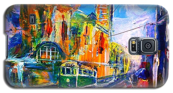 Flinders Street - Original Sold Galaxy S5 Case by Therese Alcorn