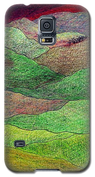 Flint Hills Fall Galaxy S5 Case