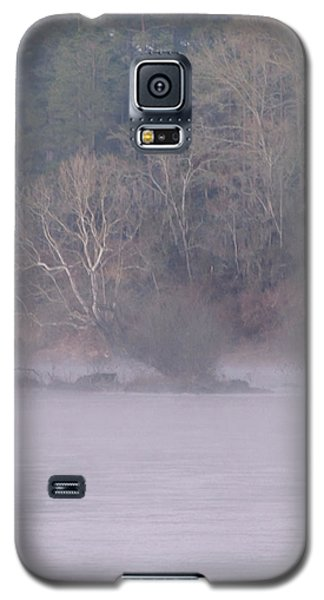 Galaxy S5 Case featuring the pyrography Flint River 10 by Kim Pate