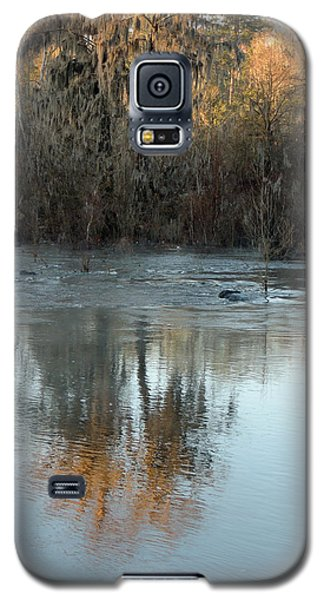 Galaxy S5 Case featuring the photograph Flint River 17 by Kim Pate