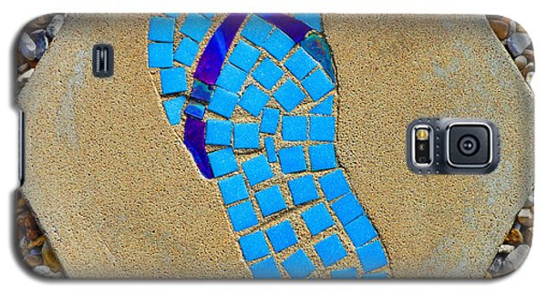 Square Flip Flop Stepping Stone Two Galaxy S5 Case