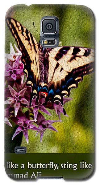 Float Like A Butterfly Galaxy S5 Case