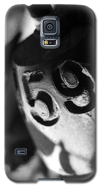 Galaxy S5 Case featuring the photograph Float Number 59 - Black And White by Rebecca Sherman