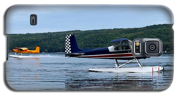 Float Planes On Keuka Galaxy S5 Case by Joshua House