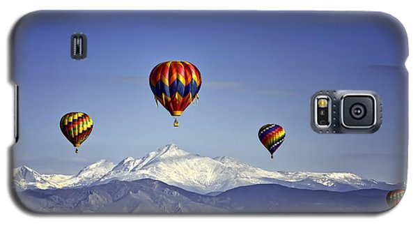 Floating Above Longs Peak Galaxy S5 Case